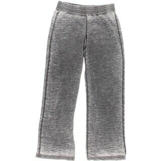 Allen Allen Womens Burnout Elastic Waist Lounge Pants