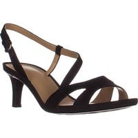 naturalizer Harmony Strappy Comfrot Sandals, Black
