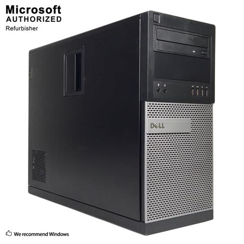 Dell OptiPlex 9020 Tower Intel i5 4570 3.20G,16GB RAM,360GB SSD,DVD,WIFI,BT4.0,VGA,HDMI Adapter,WIN10P64(EN/ES)-Refurbished