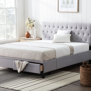 Brookside™ Anna Upholstered Storage Bed with Drawers