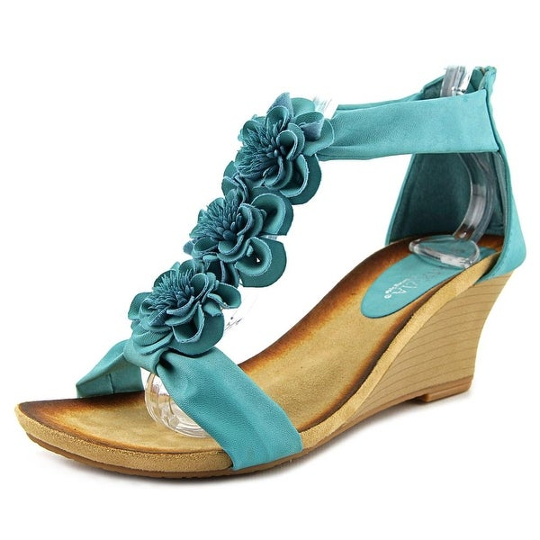 Patrizia By Spring Step Isabella Turquoise Sandals