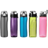 Thermos 24 oz. Eastman Tritan Flip-Cap Hydration Water Bottle w/ Rotating Meter - 24 oz.