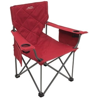 Alps 8140305 alps mountaineering king kong chair salsa red