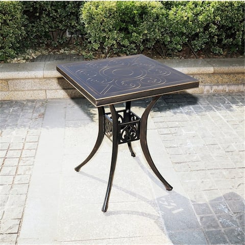 Outdoor Aluminum Small Table