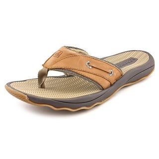 Sperry Top Sider Outer Banks Thong Men Open Toe Leather Thong Sandal