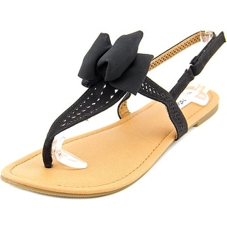 Not Rated Junbow Open-Toe Synthetic Slingback Sandal