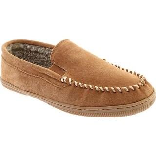 Portland Boot Company Men's Freddy Moccasin Slipper Cinnamon Suede