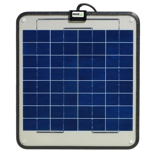 Ganz Eco-Energy 12W Semi Flexible Solar Panel - GSP-12
