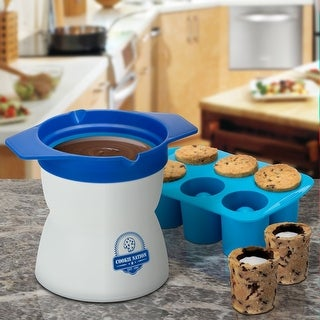 Cookie Cup Shot Maker - Drink Milk Right from your Cookies - Mold & Melting Pan