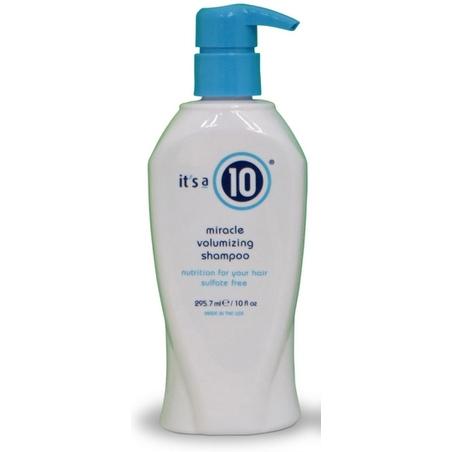 it's a 10 Miracle Volumizing Shampoo 10 oz