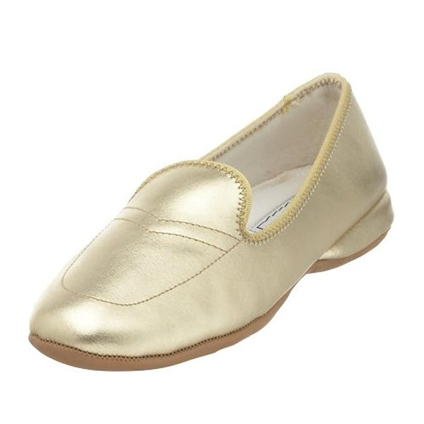 Daniel Green Womens Meg Loafer Slippers Leather Casual