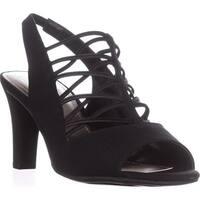 Impo Vadelia Slingback Open Toe Sandals, Black