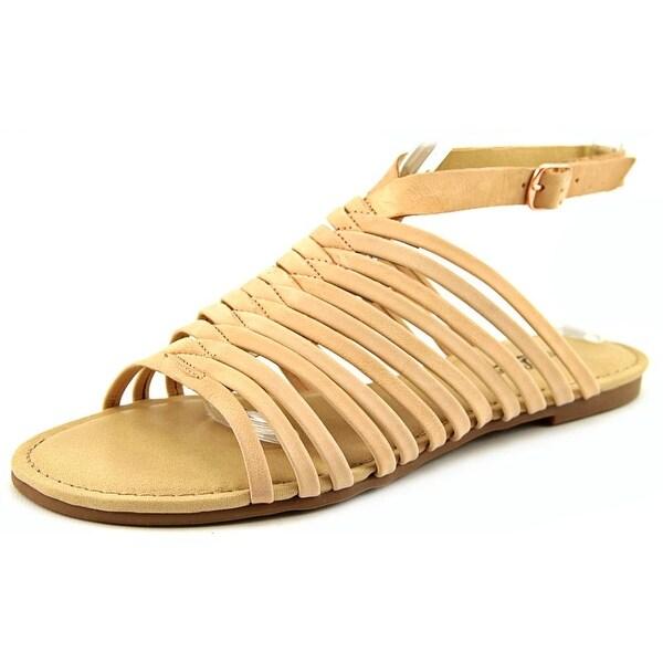 Lucky Brand Cabette Women Open-Toe Suede Pink Slingback Sandal