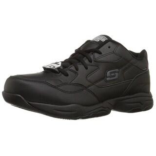 Skechers for Work Men's Felton Walking Shoe, Black