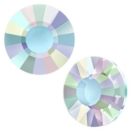 Swarovski Elements Crystal, Low Profile Round Flatback Rhinestone SS20 4.6mm, 24 Pieces, Crystal AB
