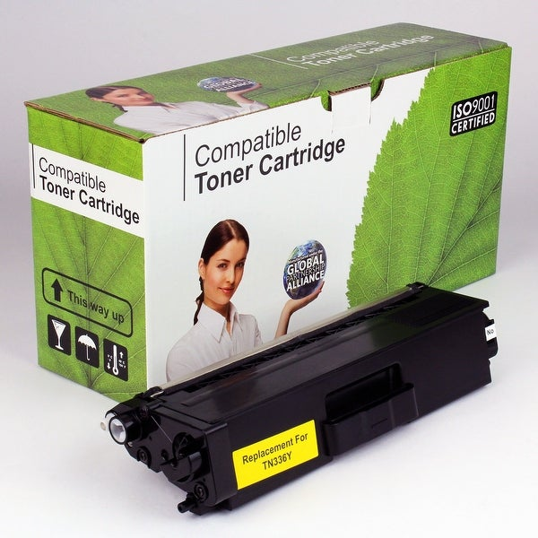 Value Brand replacement for Brother TN336Y, TN336 Yellow Toner (3,500 Yield)