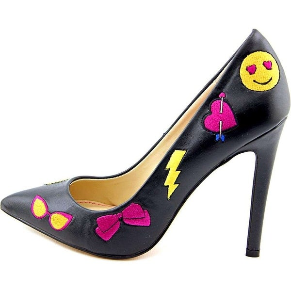 Betsey Johnson Womens Papii Pointed Toe Classic Pumps