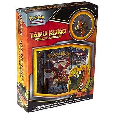 Shop Pokemon TCG Tapu Koko Pin Collection Card Game - Free
