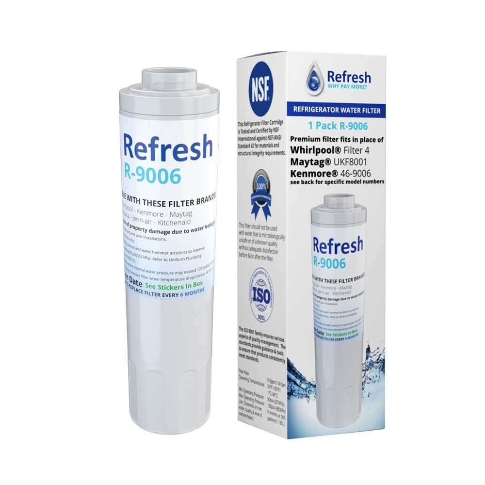 3 Pack Fits Maytag PSD262LHEZ Refrigerators Refresh Replacement Water Filter