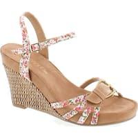 Aerosoles Women's Plush Around Wedge Sandal