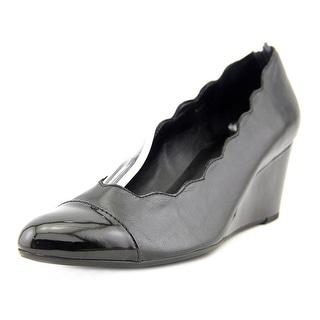Vaneli Dallan Open Toe Synthetic Wedge Heel