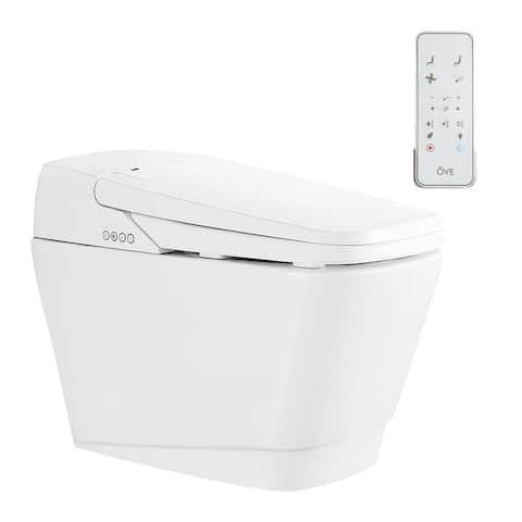 Ove Decors Fran Bidet Toilet Built-in Tankless Elongated