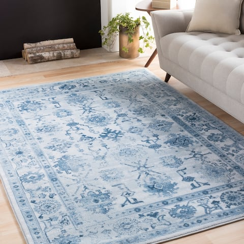 Gracewood Hollow Julian Floral Oriental Area Rug