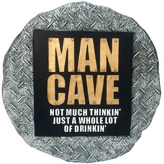 Spoontiques 13392 Man Cave Stepping Stone