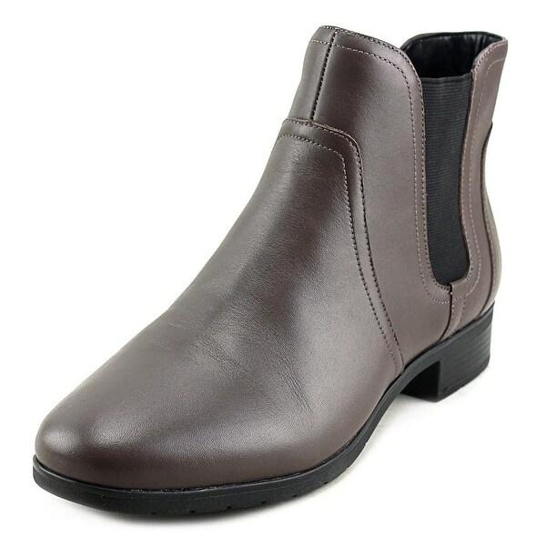 Easy Spirit Nalli Women DTau/Bk Boots