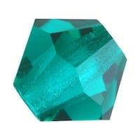 Preciosa Czech Crystal 3mm Bicone Beads Blue Zircon (25)