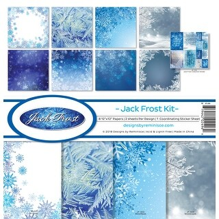 """Reminisce Collection Kit 12""""X12""""-Jack Frost"""