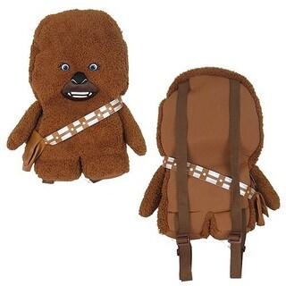 """Star Wars Chewbacca 18"""" Plush Backpack"""