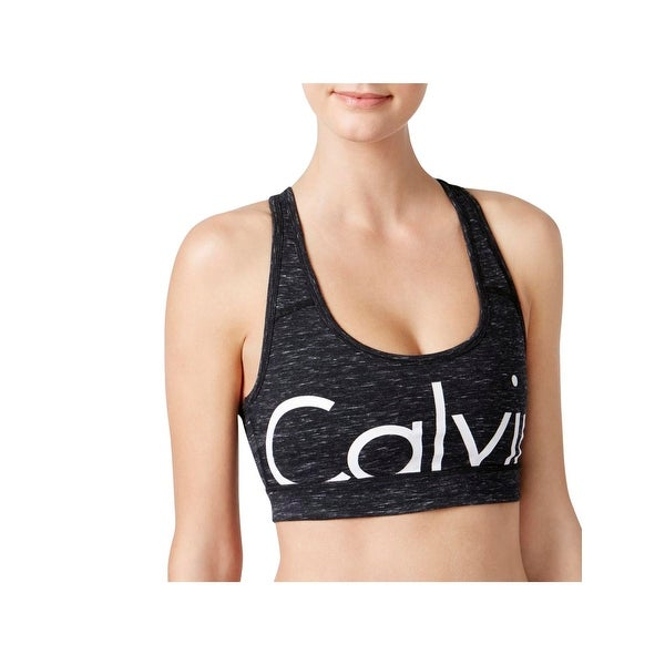 4596b40075 Shop Calvin Klein Performance Womens Sports Bra Logo Low Impact - Free  Shipping On Orders Over  45 - Overstock - 21896198
