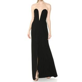 Link to Jill Jill Stuart Black Womens Size 0 Illusion Prom Gown Dress Similar Items in Dresses