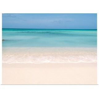 """Tranquil beach"" Poster Print"
