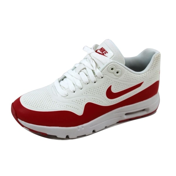 watch 94704 ed4e4 Nike Women  x27 s Air Max 1 Ultra Moire Summit White University Red
