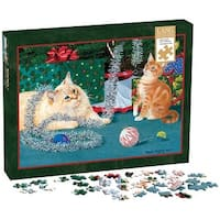 Kitten Christmas 1000 Piece Puzzle