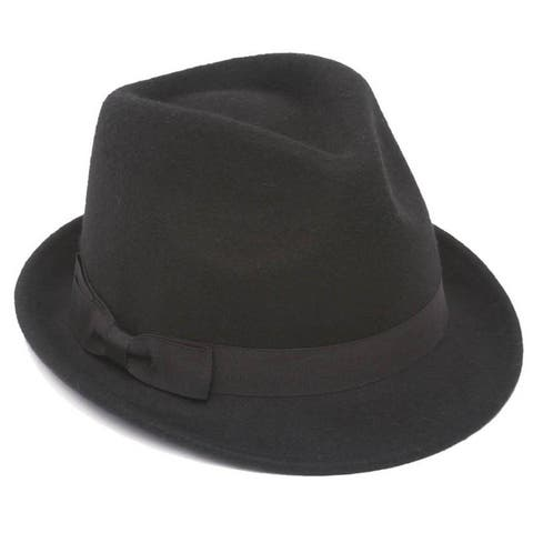 f4b7a4bb2e49d Winter Wool Trilby Fedora Hat - Medium Large