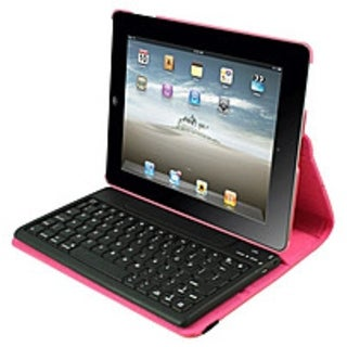 2Cool 2C-RTCK03-PNK Detachable Bluetooth Keyboard Case for iPad (Refurbished)