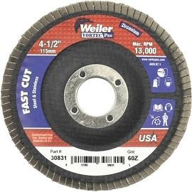 """Weiler 4-1/2"""" 60G Flap Disc"""
