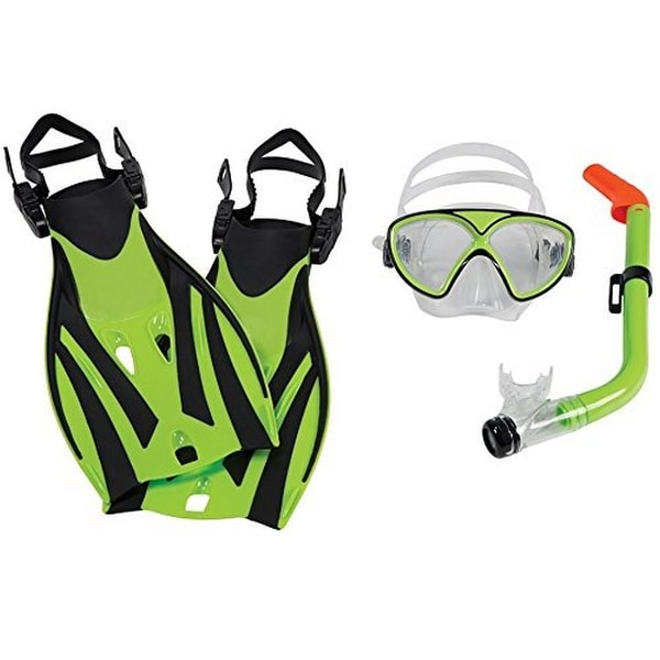 Leader Montego Bay Super Kit Jr, Lime Green/Black, Os