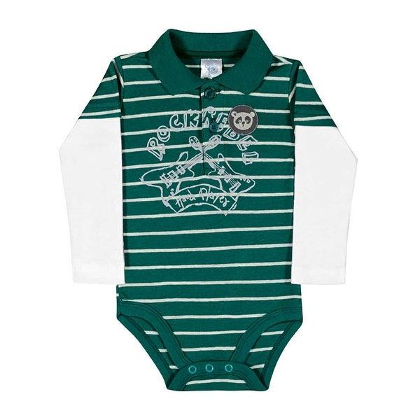 Baby Boy Bodysuit Long Sleeve Newborn Infant Polo Jumper Pulla Bulla 3-12 Months