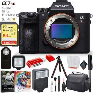 Link to Sony a7R III 42.4MP Mirrorless Digital Camera Accessory Combo Similar Items in Digital Cameras