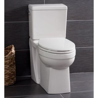 Miseno MNO370C Two-Piece High-Efficiency Elongated ADA Height Toilet with Slow C