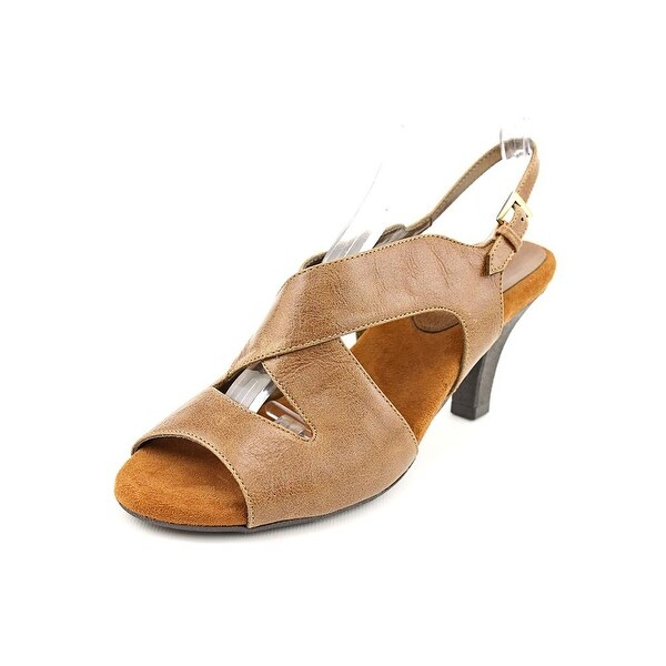 Aerosoles Fax Break Women Dk Tan Combo Sandals