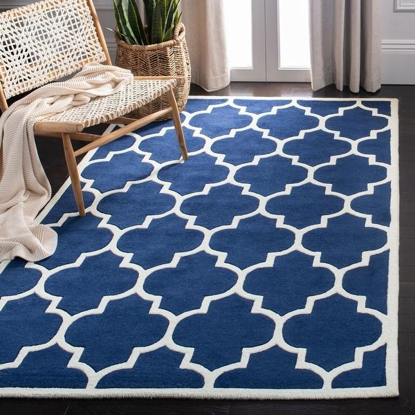 Safavieh Handmade Chatham Elia Modern Moroccan Wool Rug. Opens flyout.
