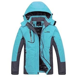 Wantdo Womens Fleece Waterproof Coat - asia xl