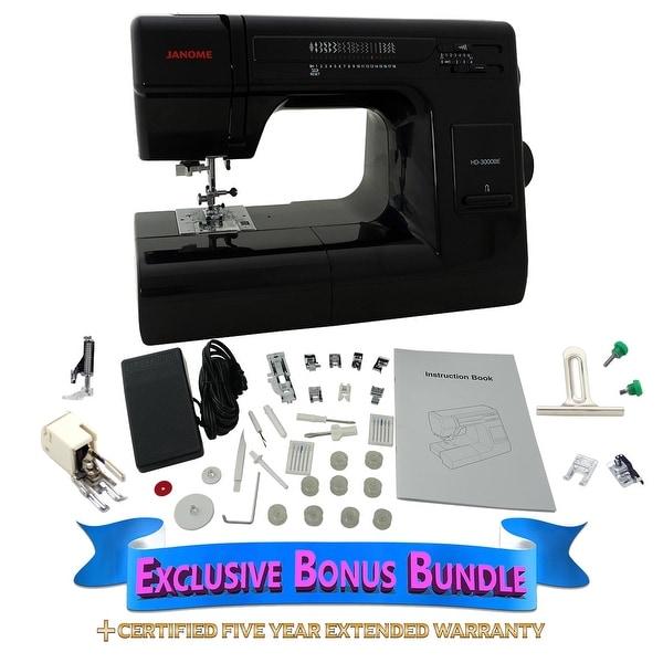 Shop Janome HD 40 BE Black Edition With Exclusive Bonus Bundle Best Janome Hd3000 Sewing Machine