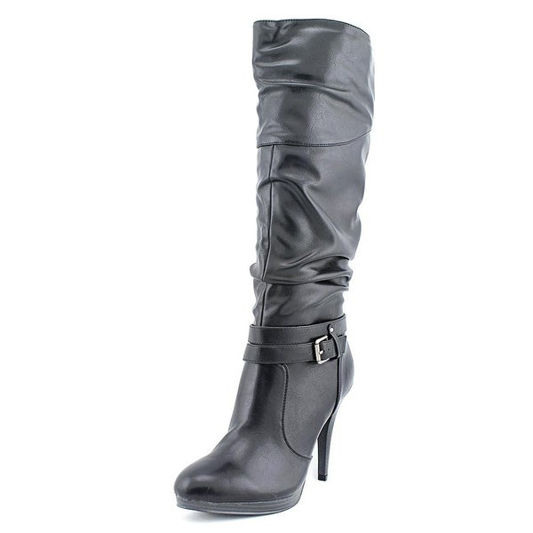 Style & Co. Womens Fearse Almond Toe Knee High Fashion Boots