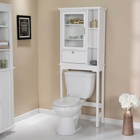 Addy Traditional White Wood Spacesaver
